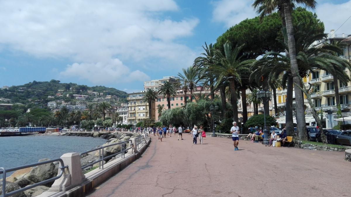 Rapallo -keskellä keskikesän juhlaa