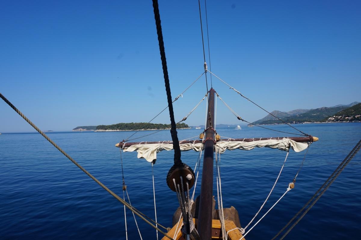 Elafiti saaret Dubrovnikin edustalla-Kolocep, Sipan ja Lopud