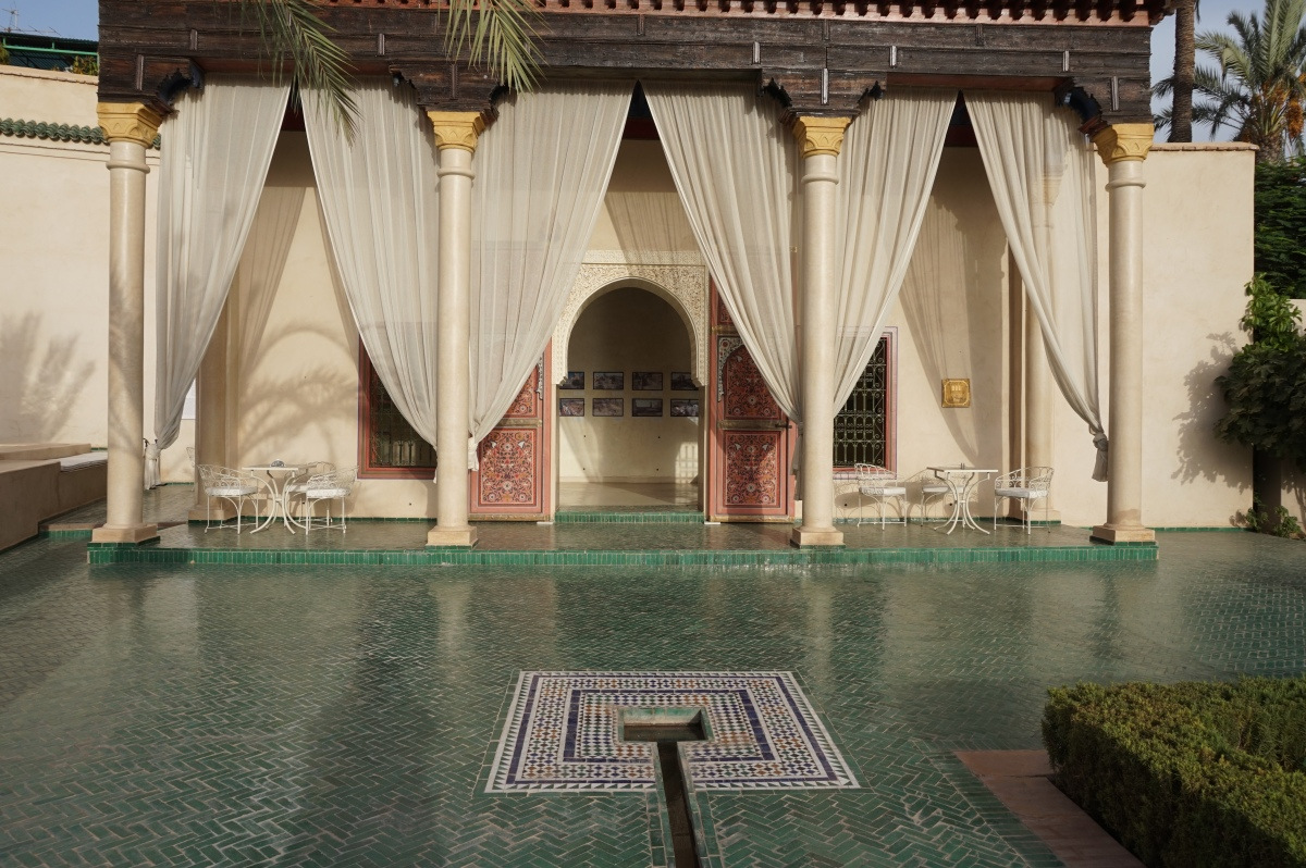 Marrakechin puutarhoja: Le Jardin Secret Garden ja Jardin Majorelle
