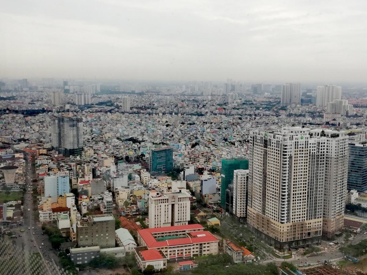 Ho Chi Min City - iltapäivä Saigonissa