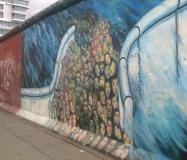 berliini the wall