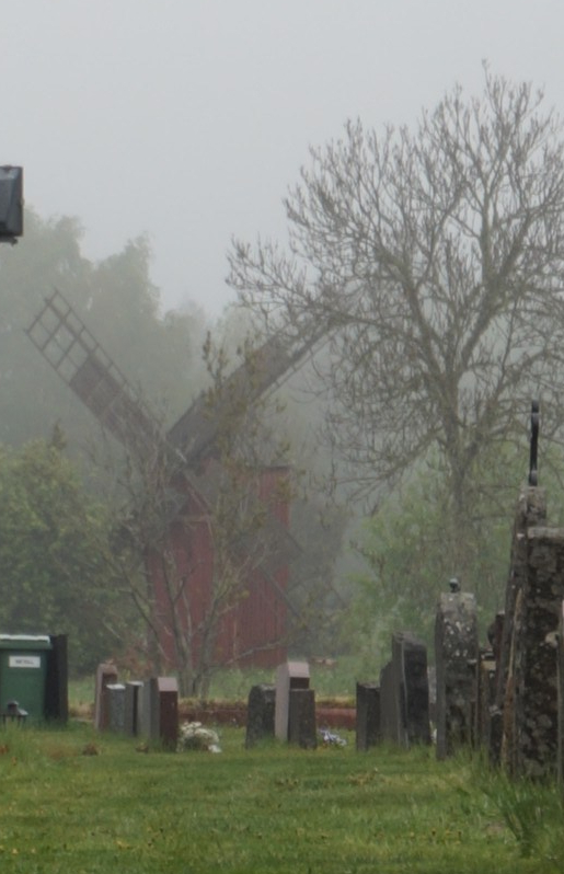 Hammarlandin kirkko ja tuulimylly