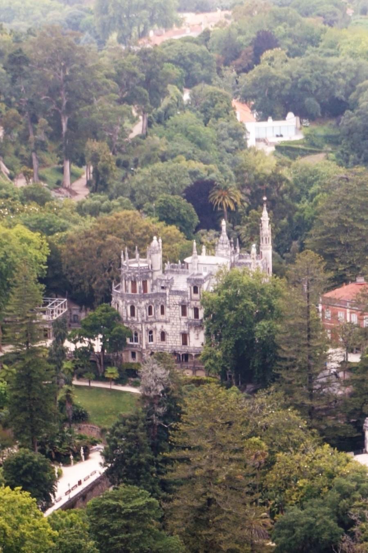 näkymää Maurien linnoitukselta, Sintra