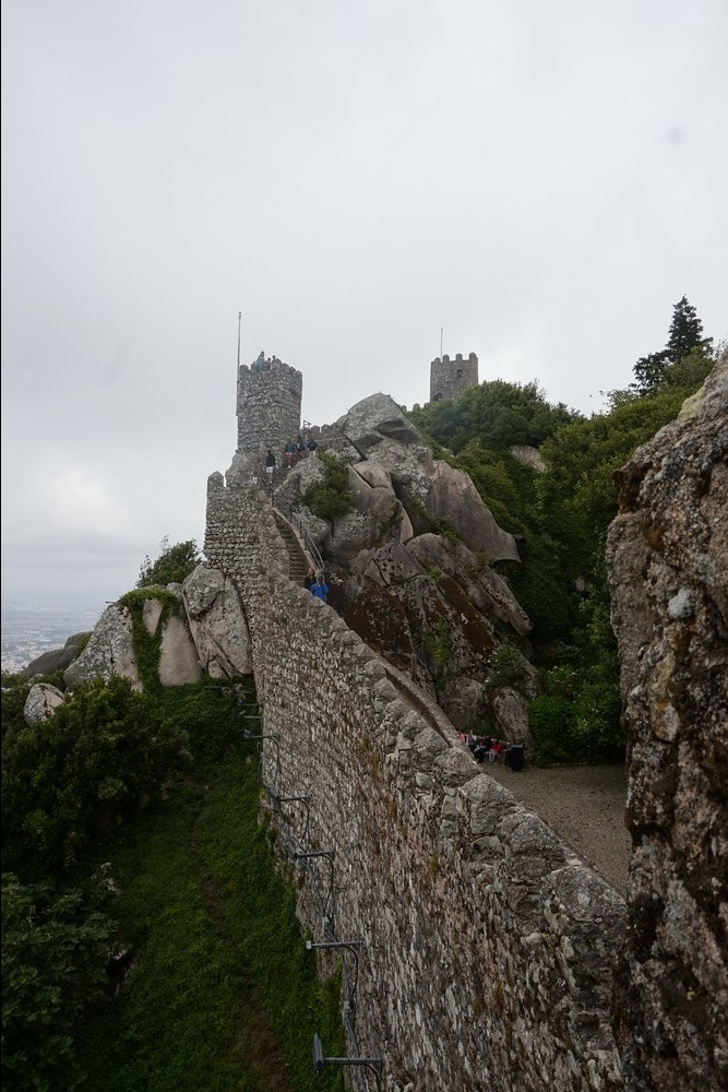 Maurien linnoitus, Sintra