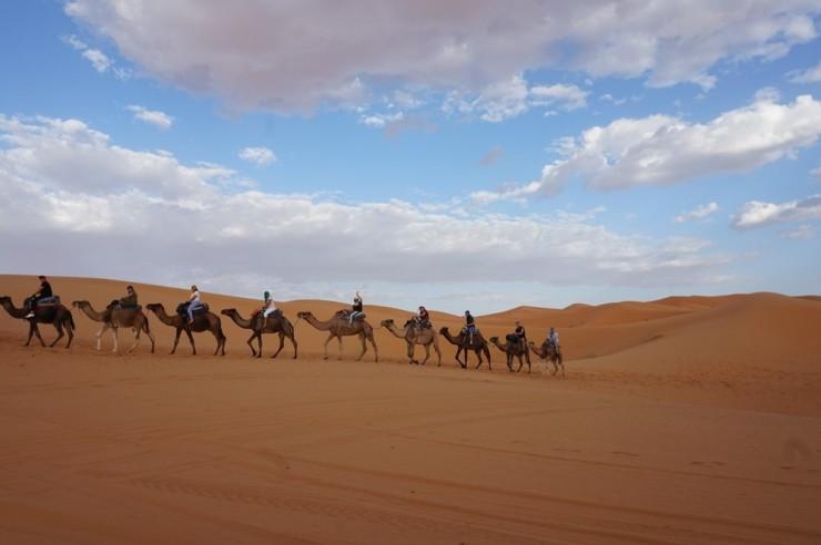 Marokko_Saharan autiomaa