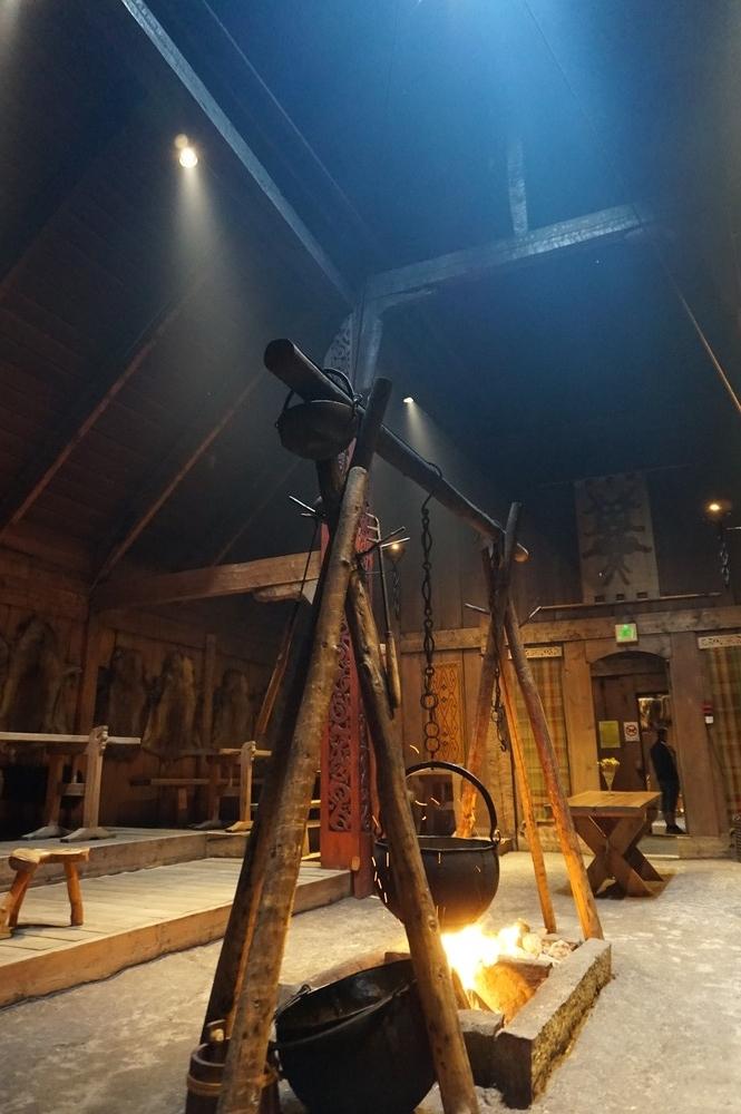 viikinkimuseo Lofooteilla